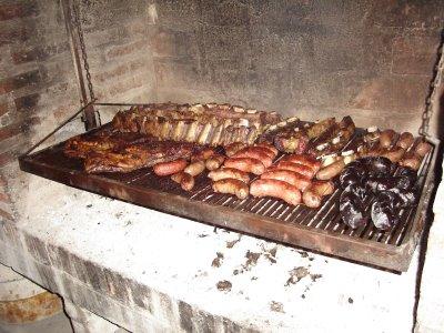 El asado, un encanto típico de Argentina
