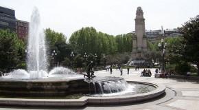 La Plaza España de Madrid